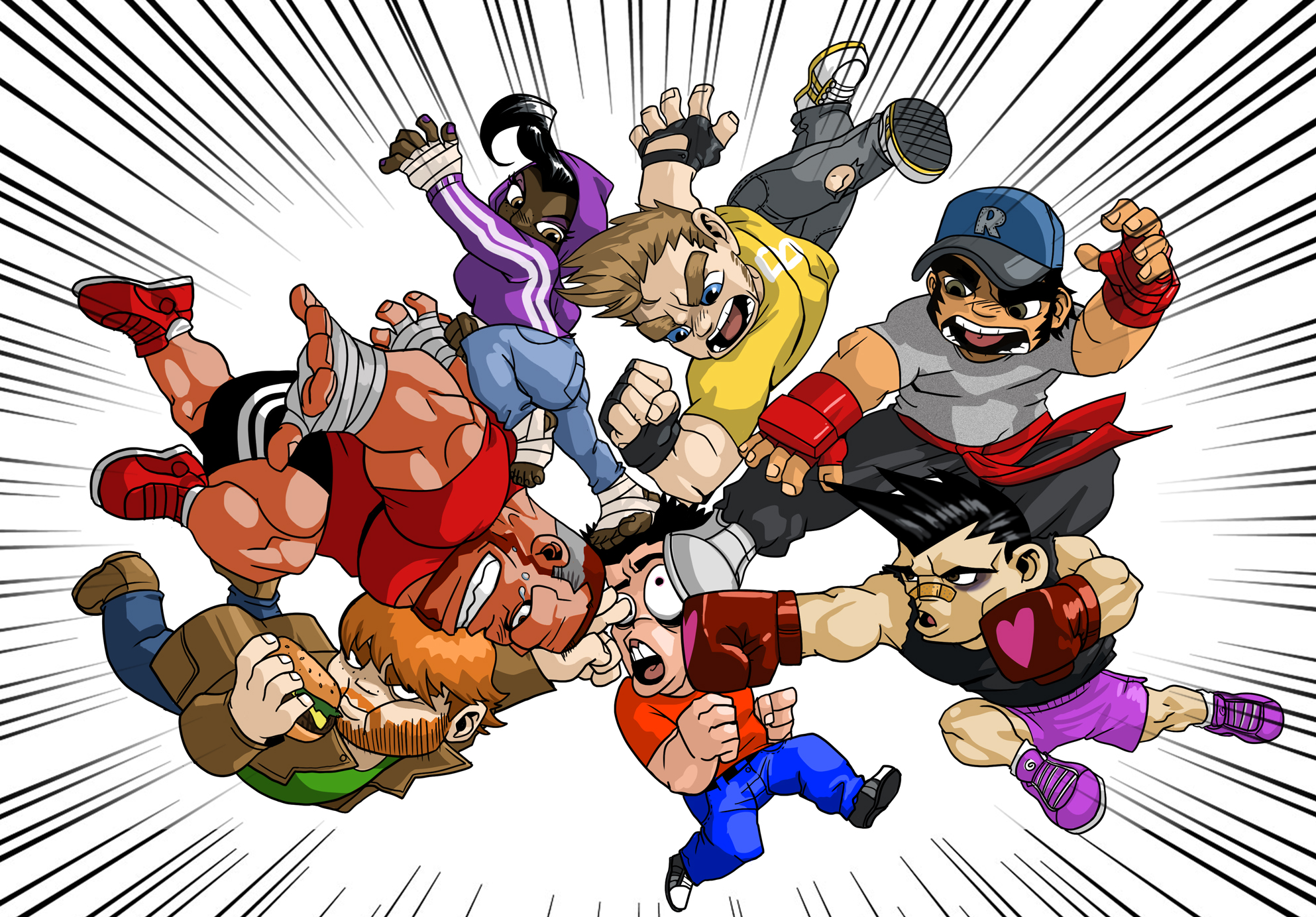 River City Ransom: Underground on Steam Greenlight