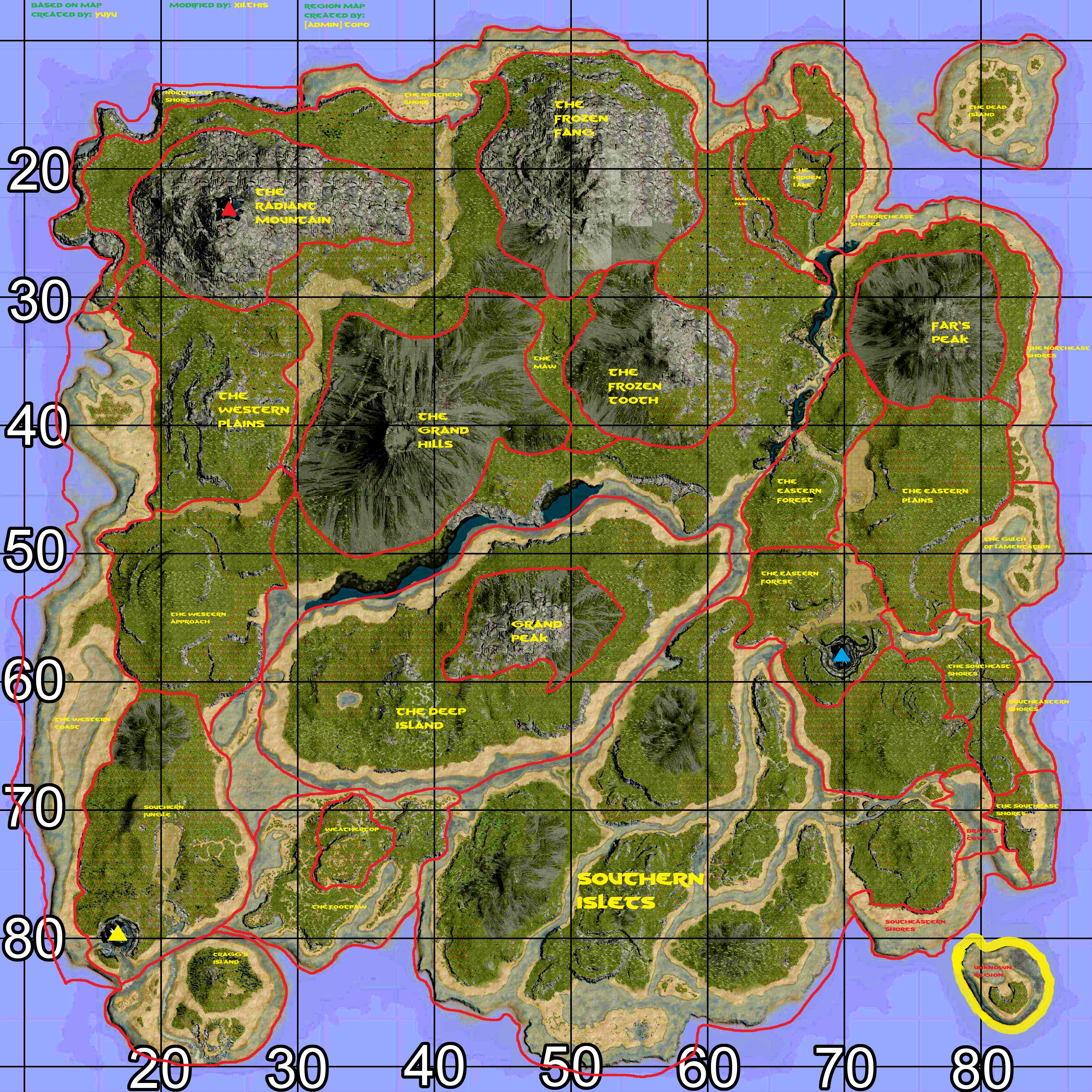 Steam Community Ark Region Map Semi Final