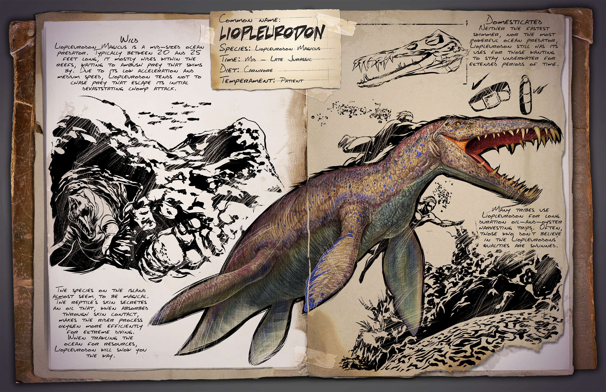Ark Survival Evolved 07 17 15 Introducing The Liopleurodon