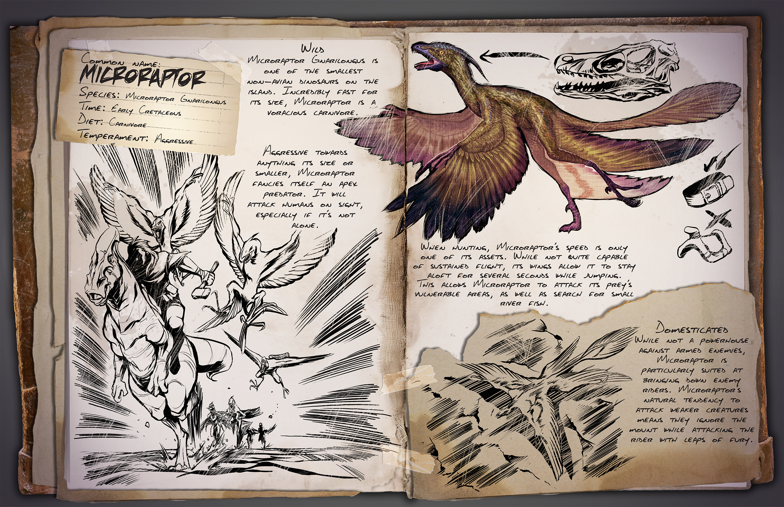 Image Result For Ichthyornis Coloring Book