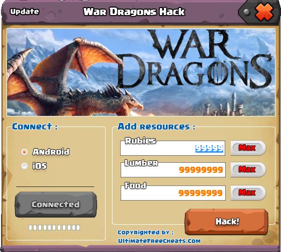 War Dragons trucos
