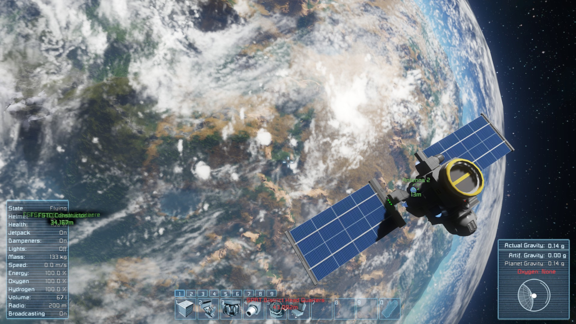 Unmanned Satellite Launch From Earth Keen Software House Forums - Actual satellite images