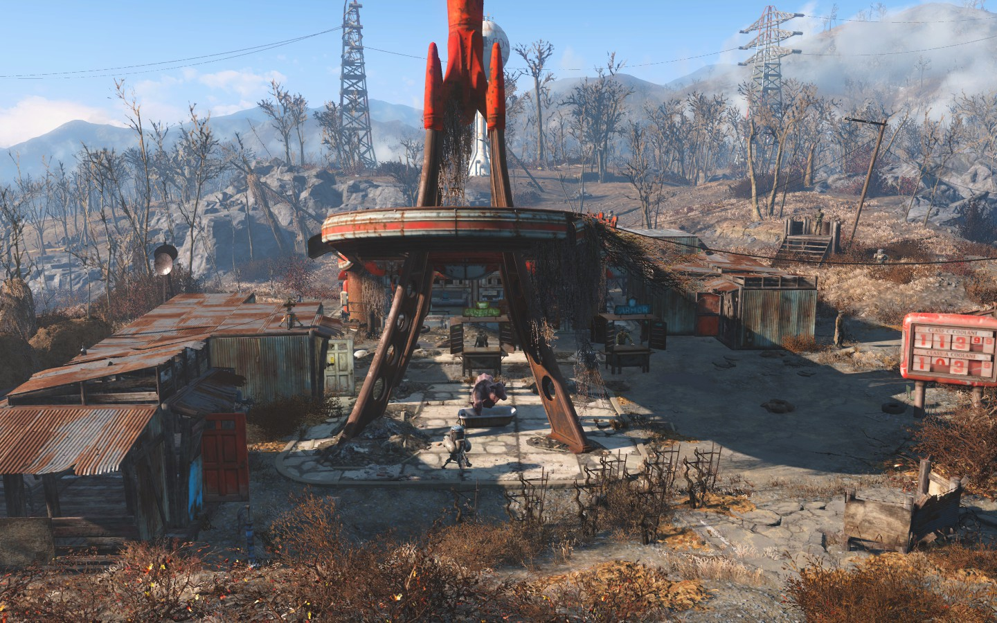 Check Out My Red Rocket Settlement