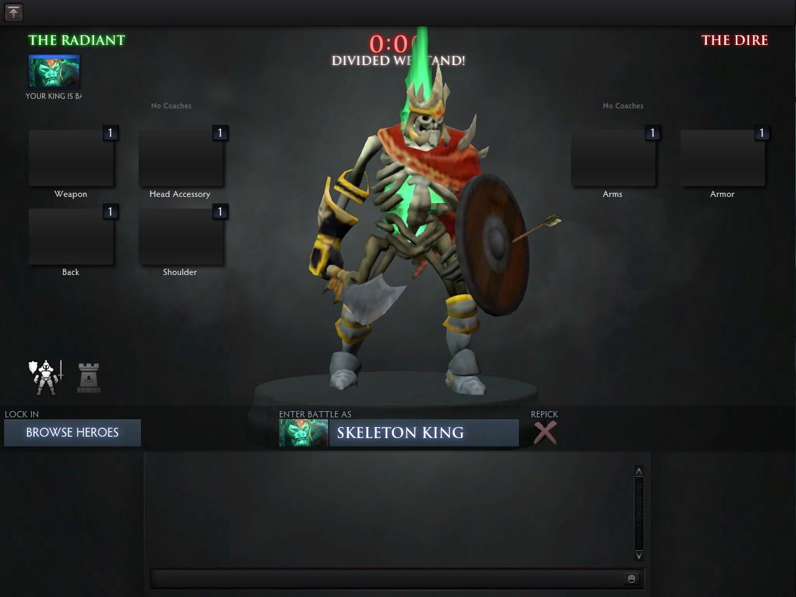 Skeleton King Mod [BETA RELEASE] + Custom Gamemode : DotA2