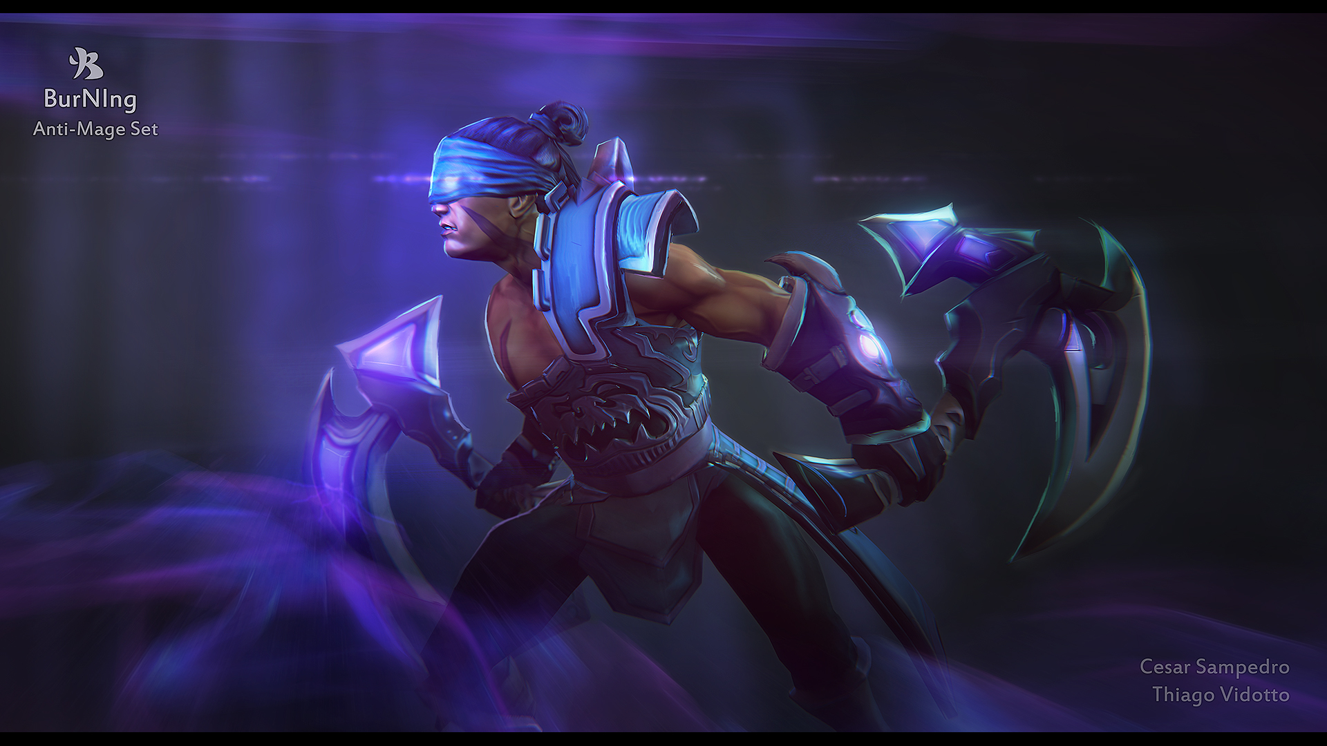 Steam Workshop :: BurNIng Anti-Mage set