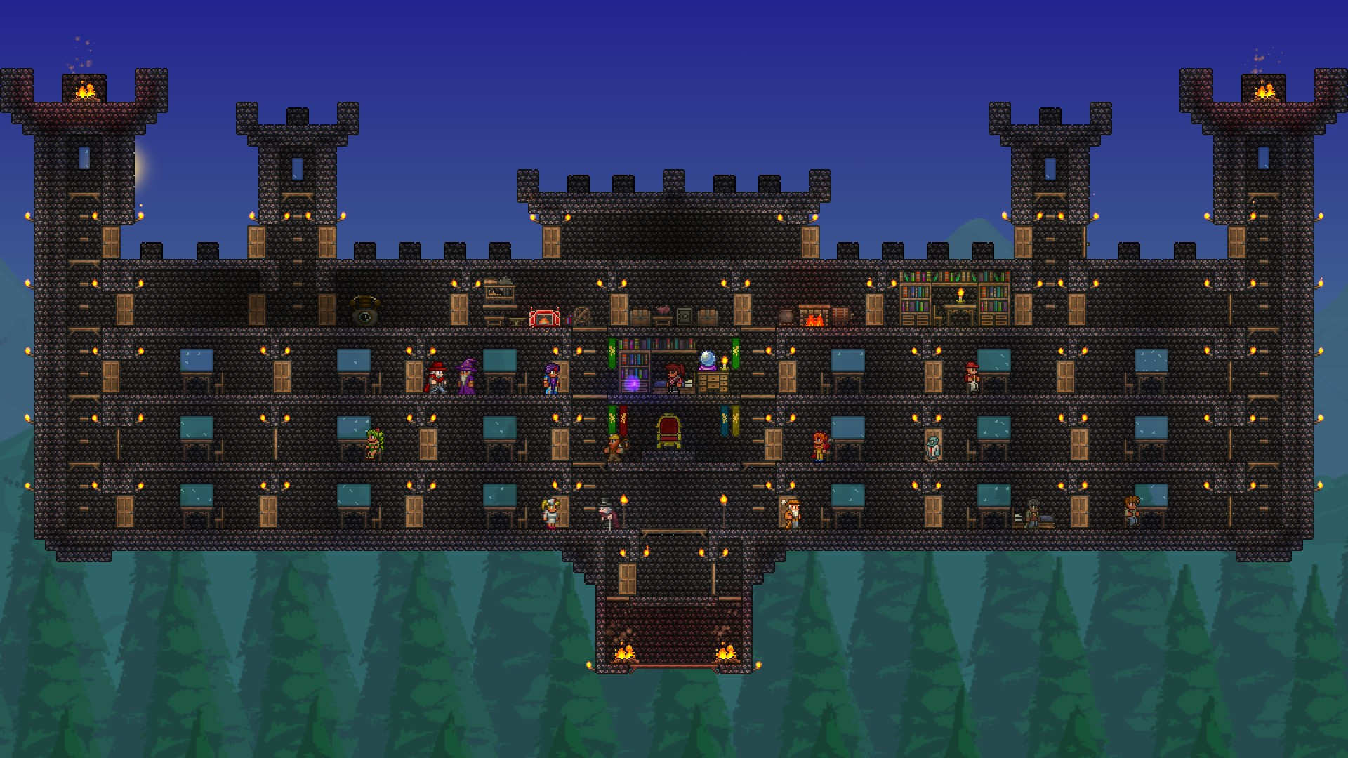 Terraria - 2D Open-World Sidescroller Building Game w/ Pew