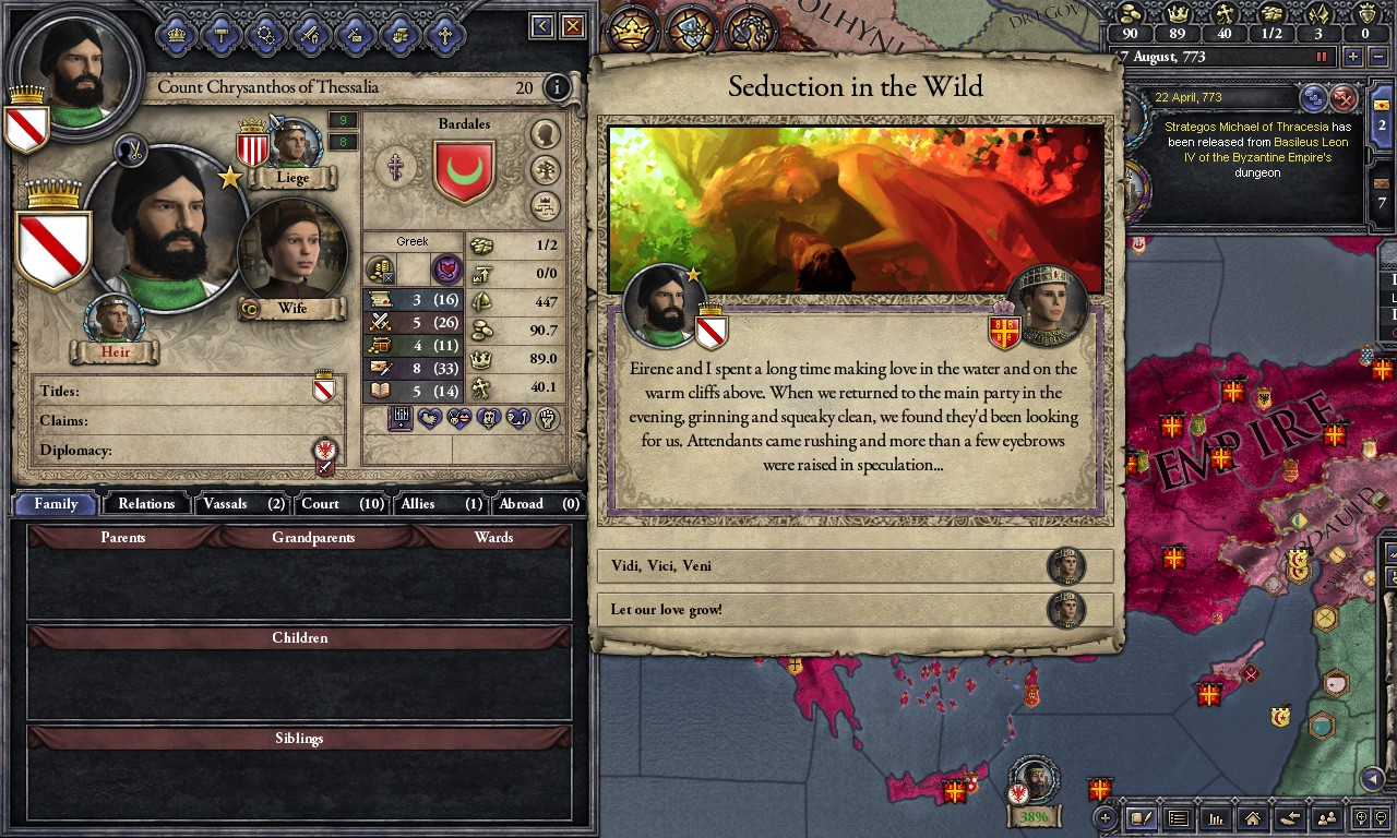 Ck2 homosexual events