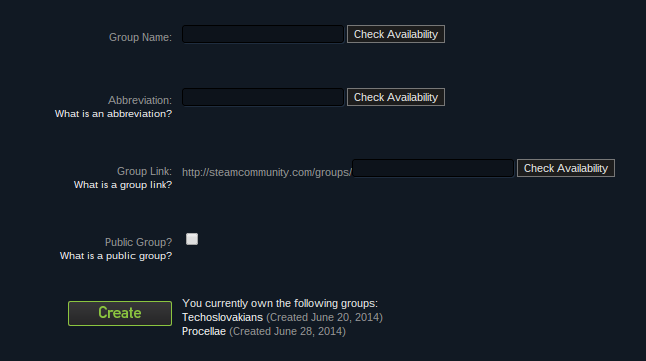 how to delete steam group