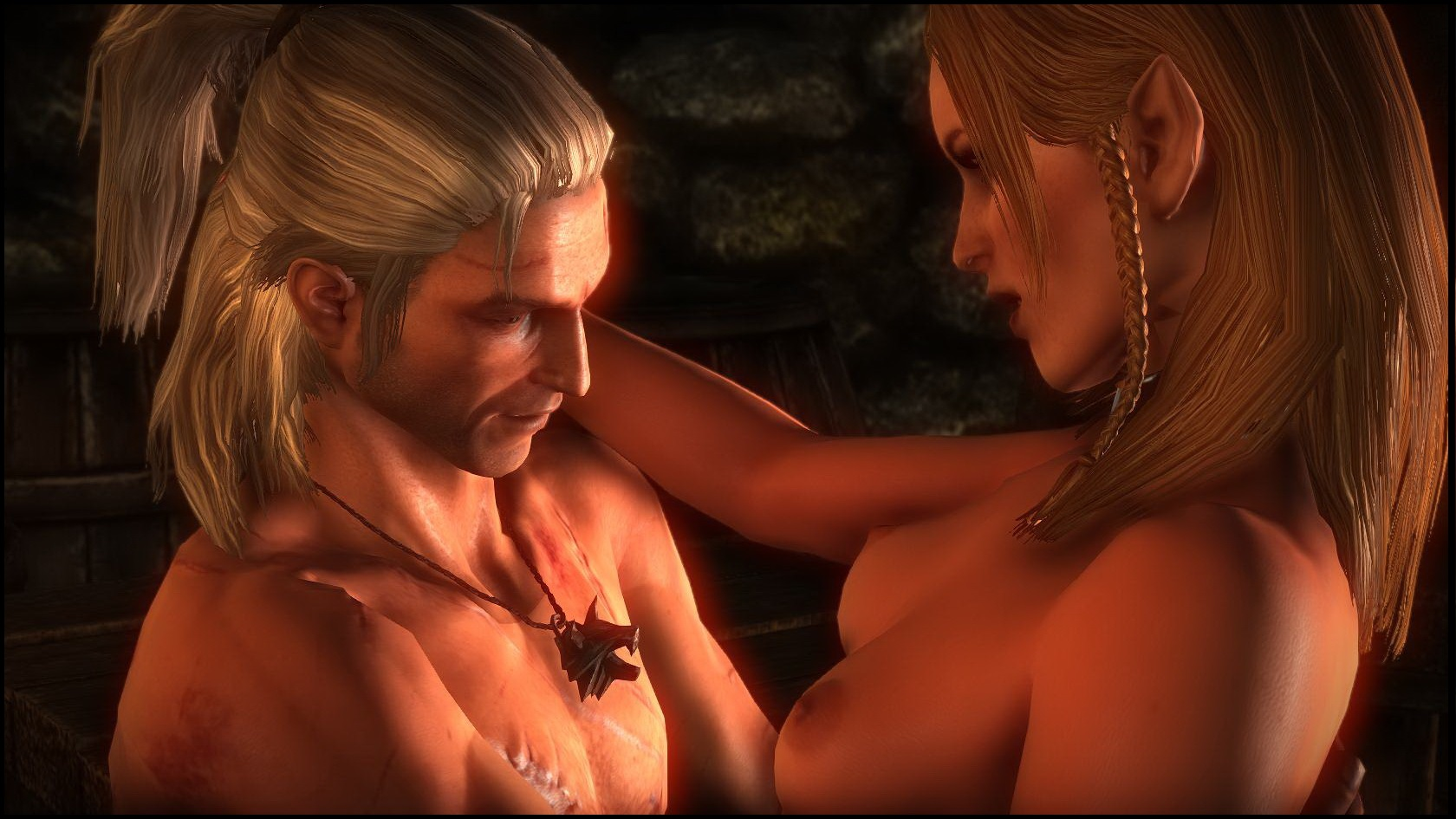 The witcher erotic cards smut home women