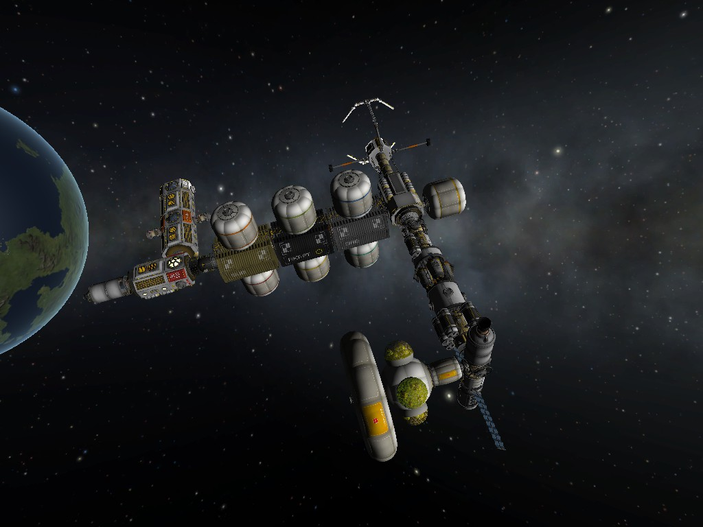 Kerbal Space Program Mk  4: Flatspins means you will not be