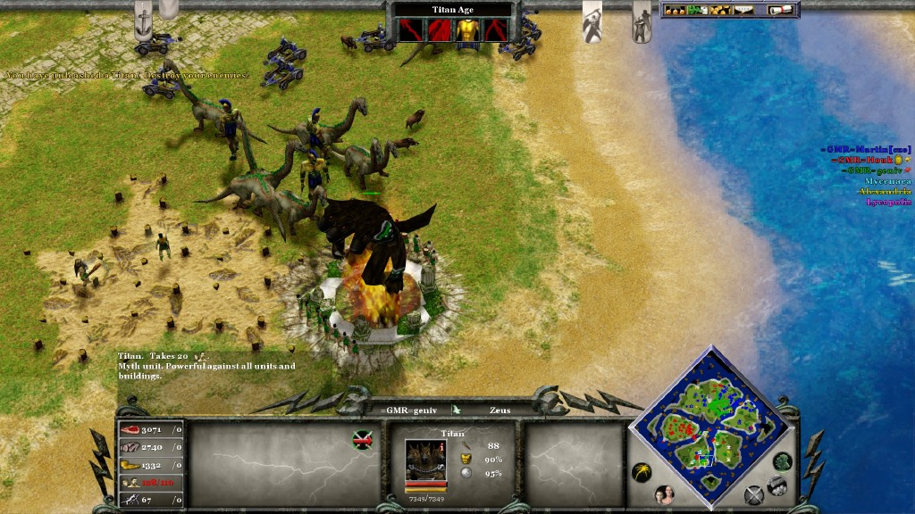 how to stop sync error age of mythology
