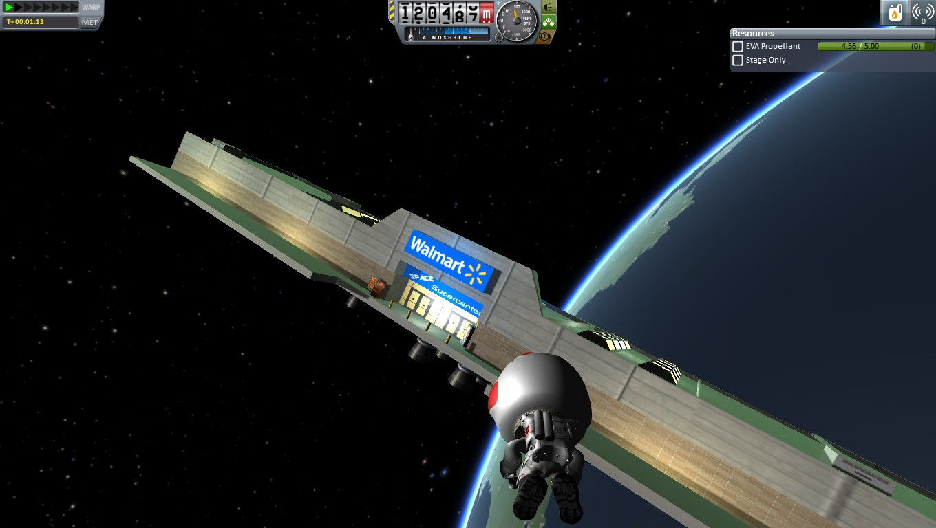 Spaceliner Command And Control Kerbal Space Program