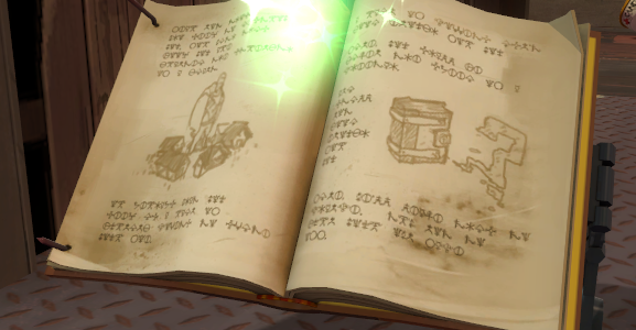I'm looking to make my own Fancy Spellbook prop, can anyone help me