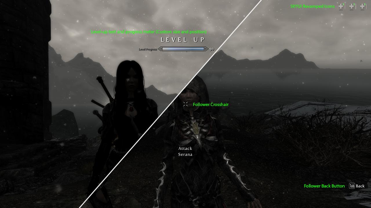 Skyrim Mod: Immersive HUD (iHUD) - Version 2 4 UPDATE