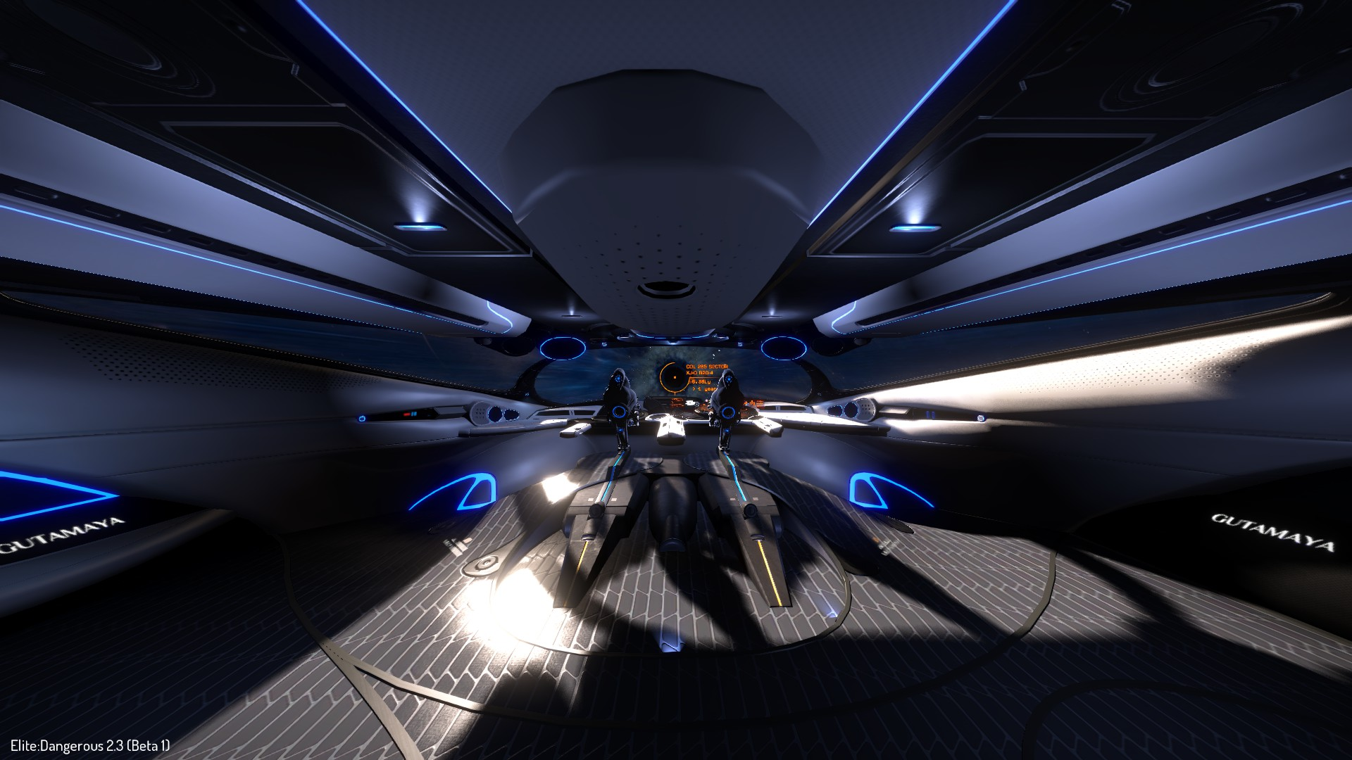 Elite Dangerous Imperial Cutter Interior