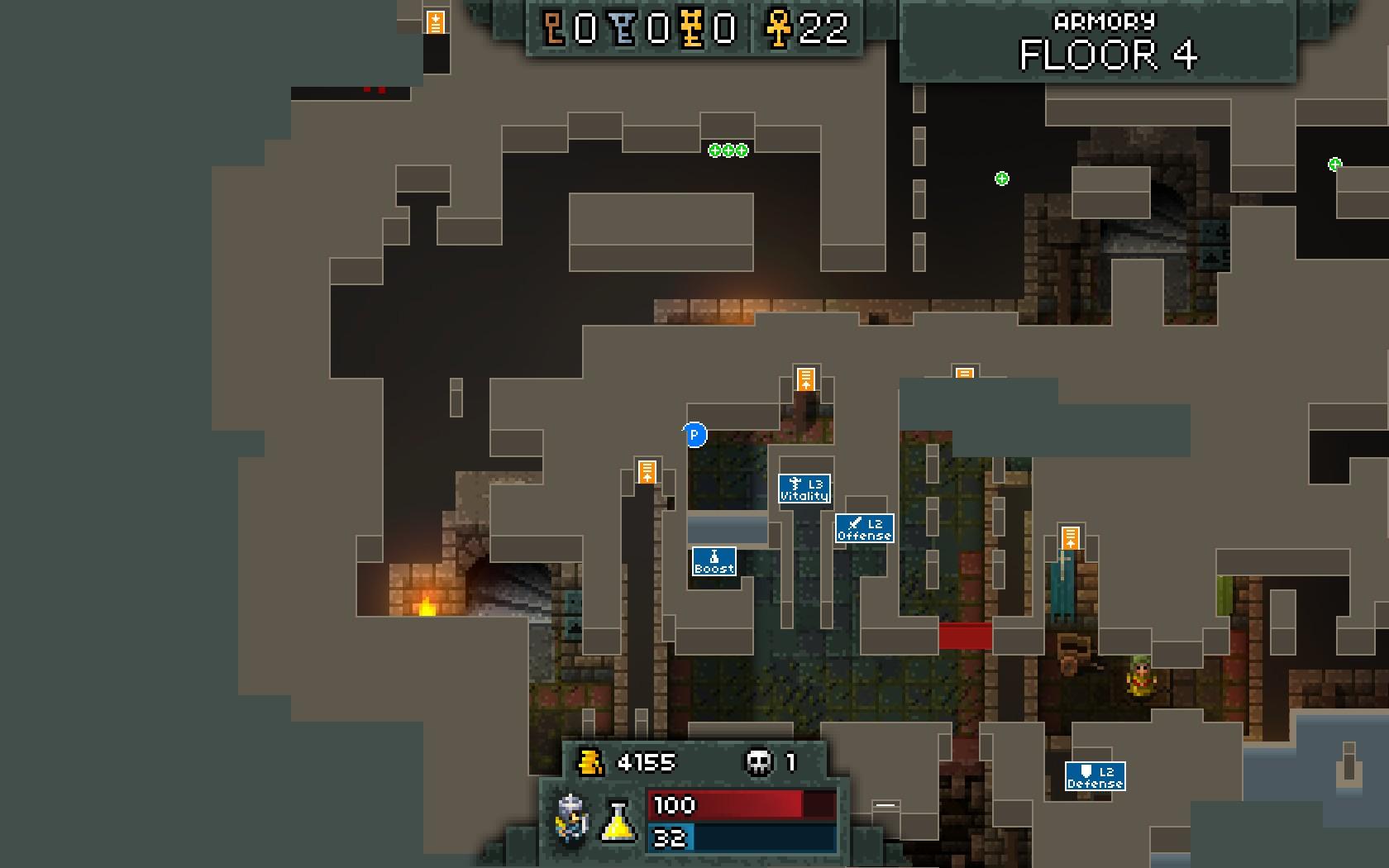 Steam community guide all secrets for Floor 4 mini boss map