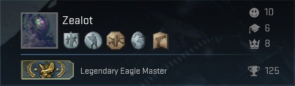 Аккаунт CS:GO [Legendary Eagle Master]