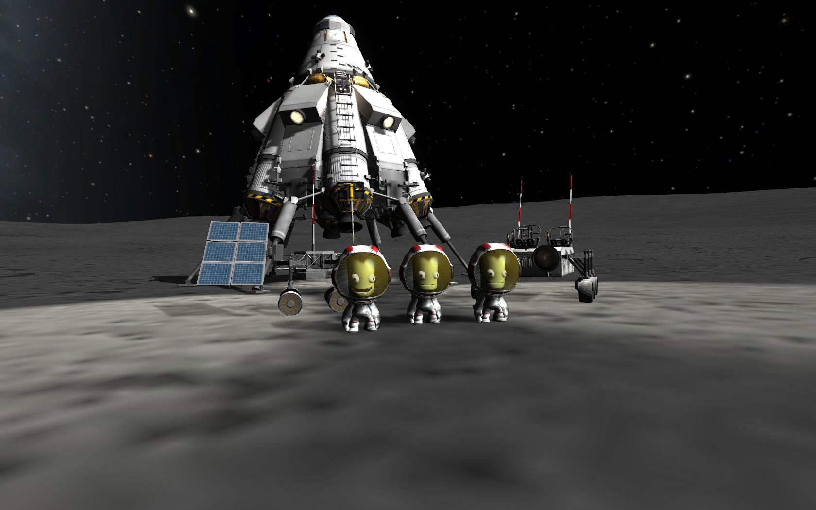 kerbal space program mun lander - photo #46