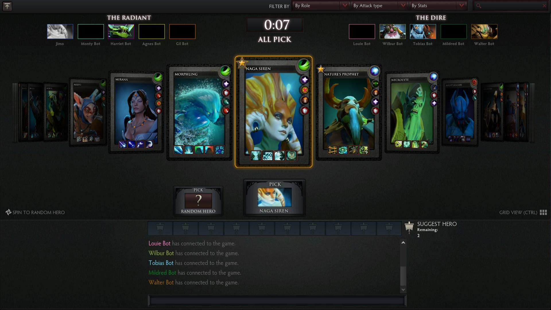 matchmaking mode