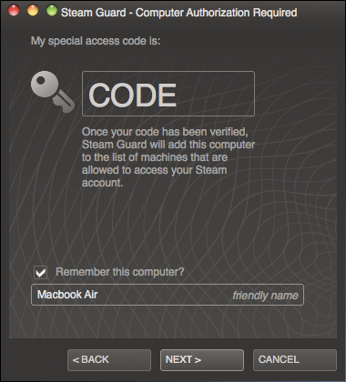 how to change steam login email