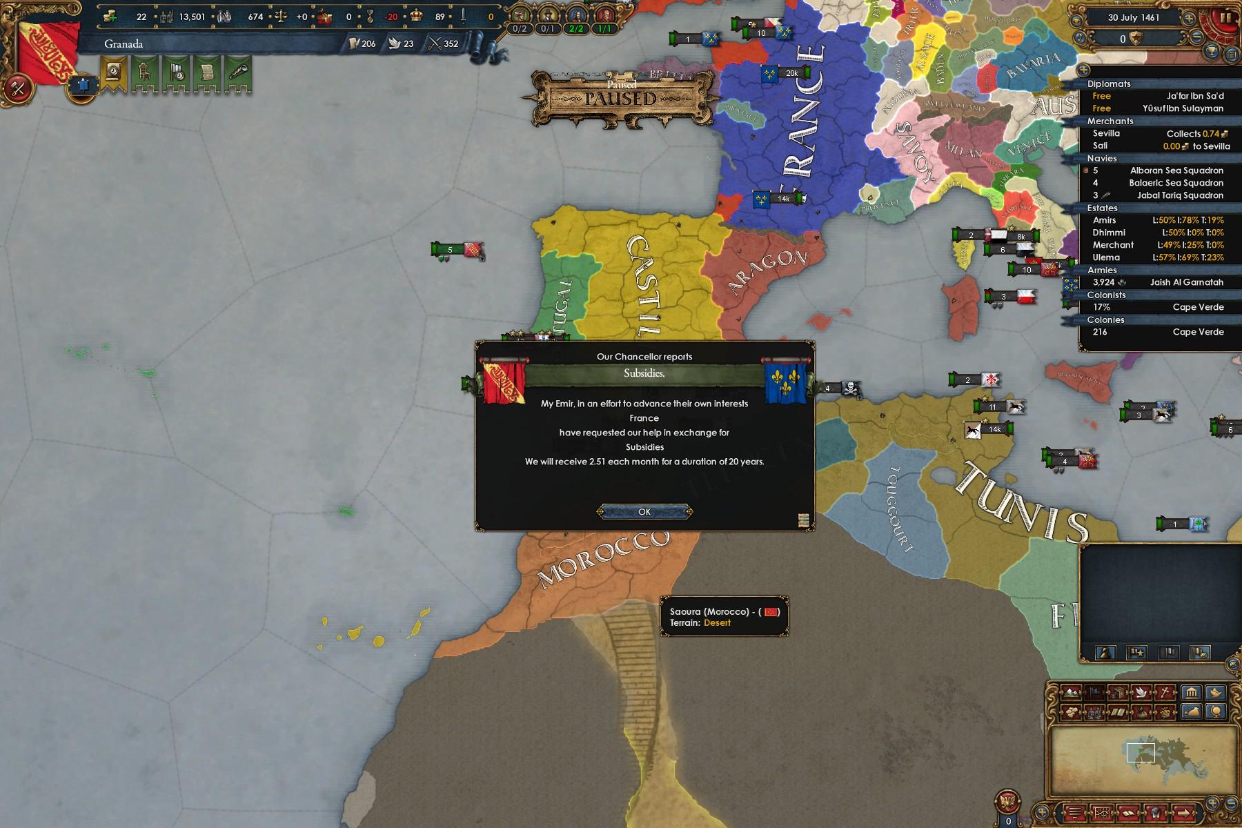 Granada Reconquista strategy 1 19 | Page 2 | Paradox