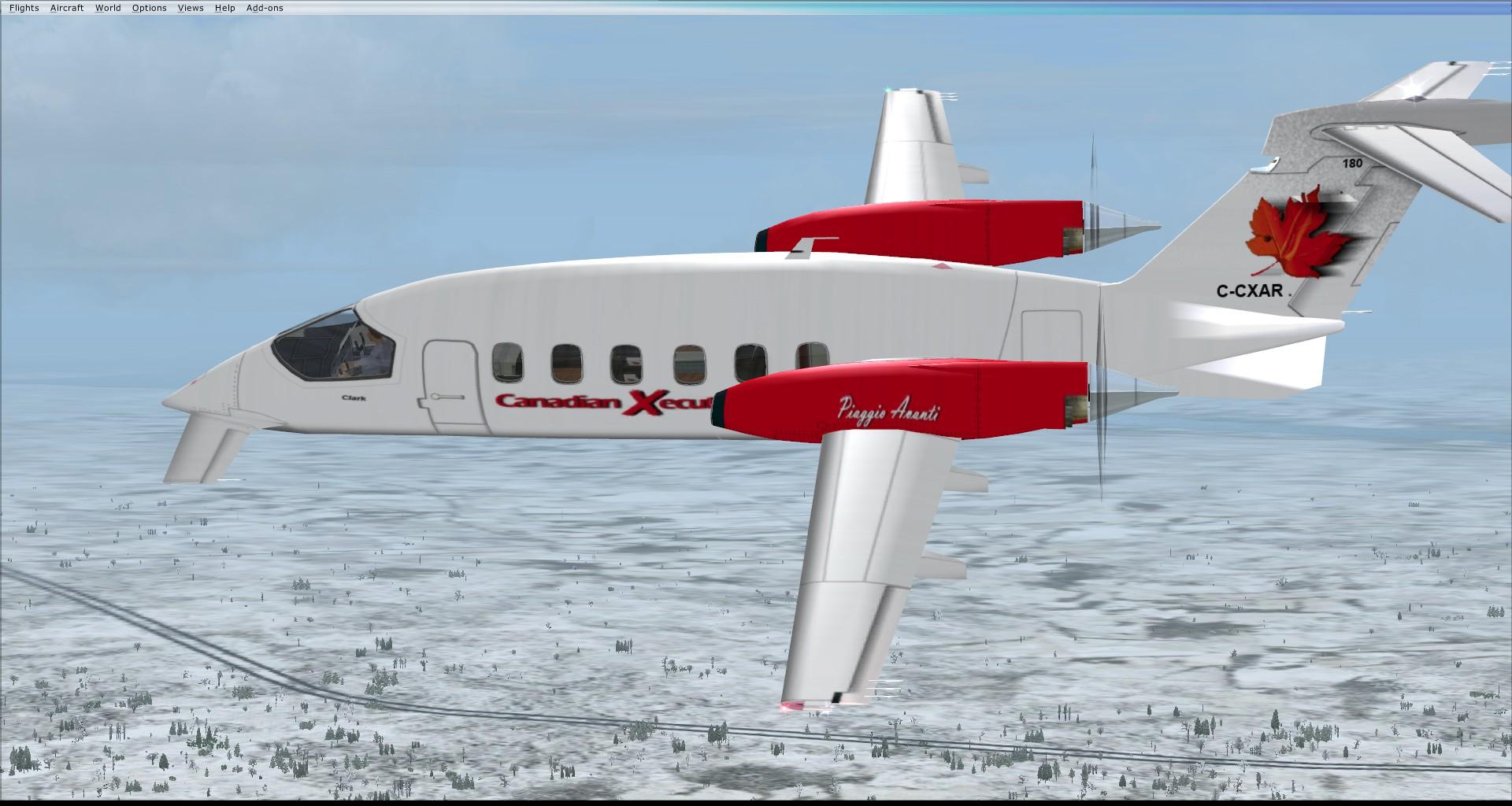 Piaggio P-180 Avanti (P180)