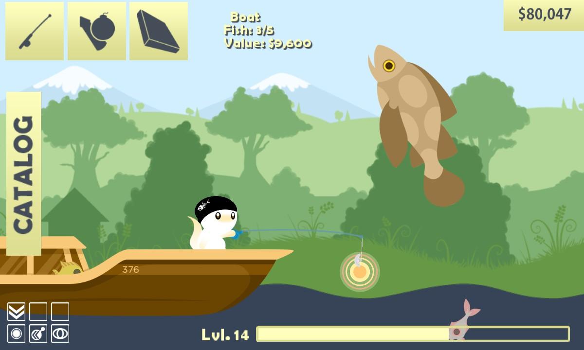 Spo Eczno Steam Cat Goes Fishing