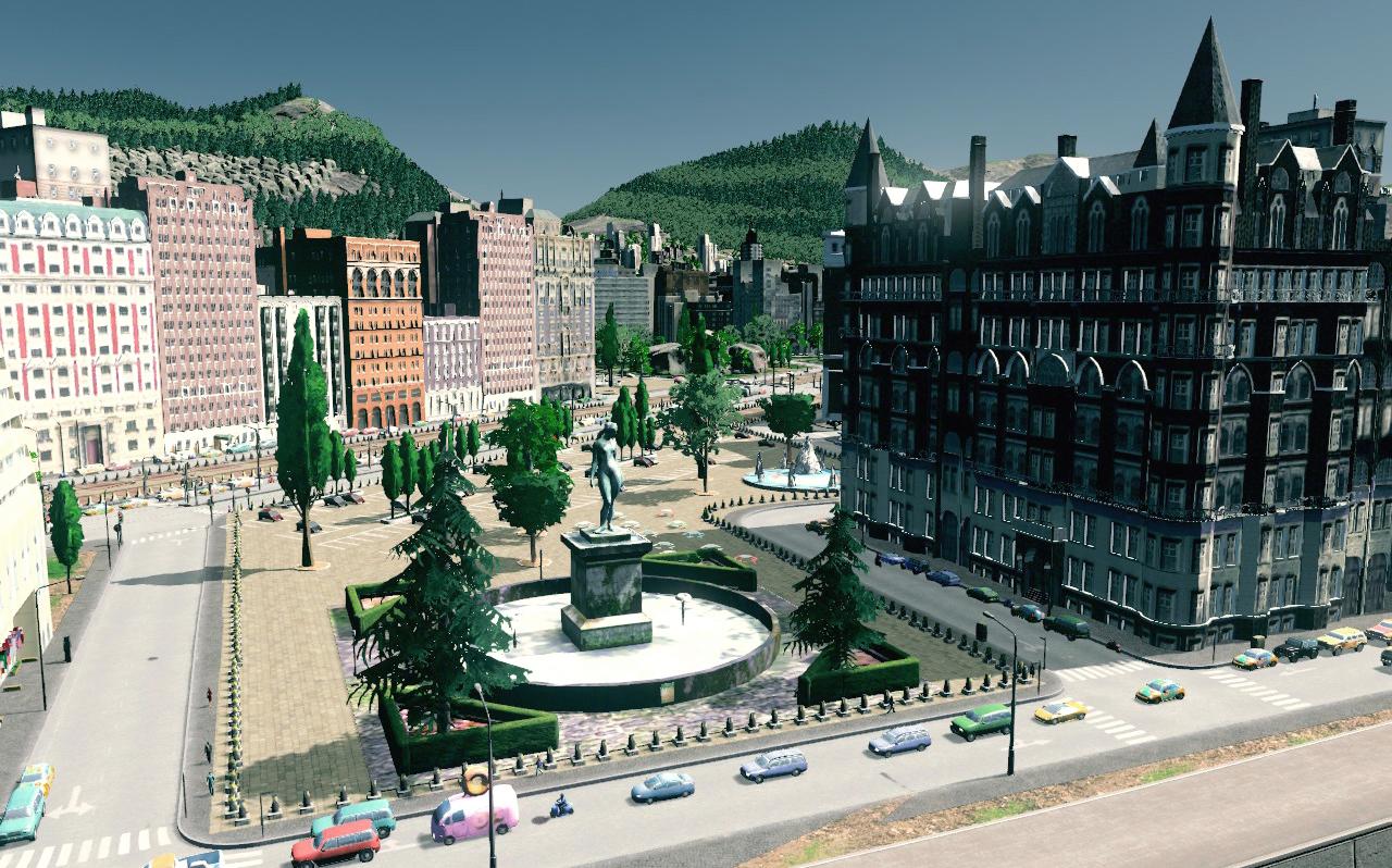 image Place urbaine