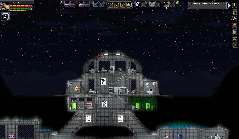 starbound mining robot